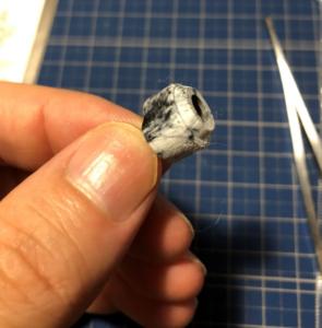 大理石塗装 繊維処理