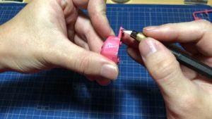 デザインナイフ削り方